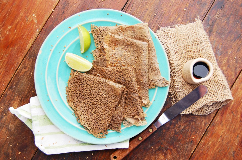 Final Buckwheat Lime Crepes Folded