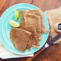 gluten free buckwheat crepes