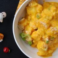 kid friendly cauliflower and cheese bake