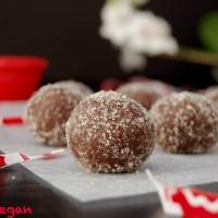 Raw Vegan Cocoa Truffles