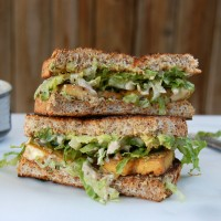baked_tofu_caesar_sandwich_stacked_dressing
