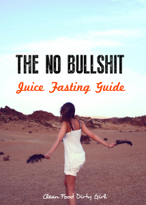 no bullshit juice fasting guide