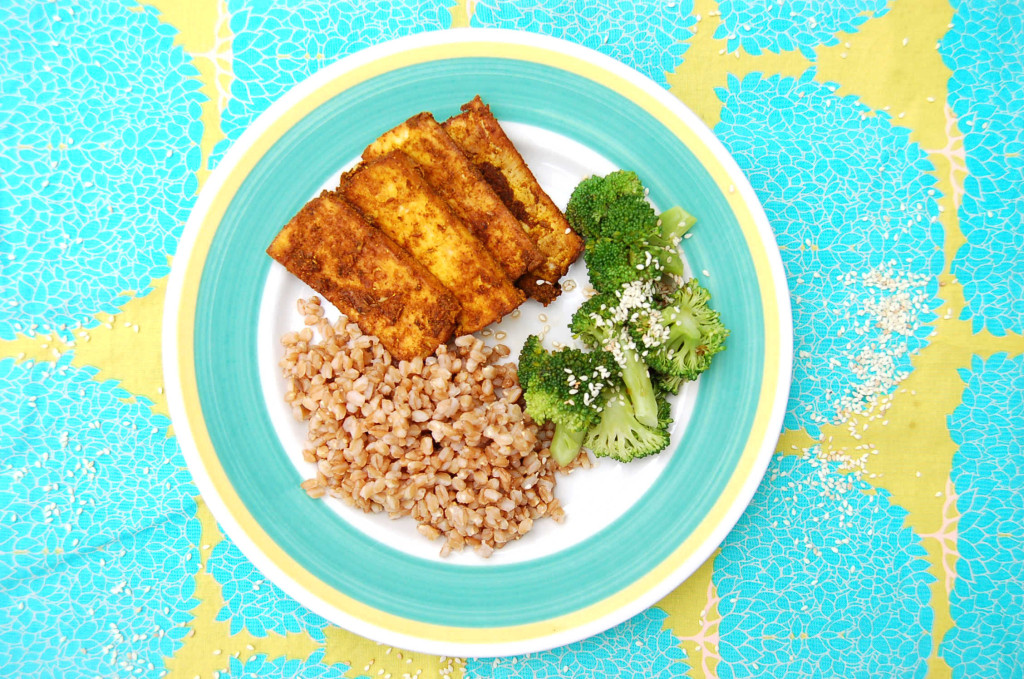 curry_tofu_plate