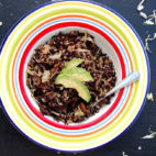 Saying Goodbye + Veggie Fried Black Rice & Lentils