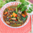 My Morning Dance + Antioxidant Packed Vegetable and Wild Rice Soup