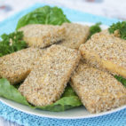 Take A Pause And Do This … + Basil Crusted Tofu (Oil Free)