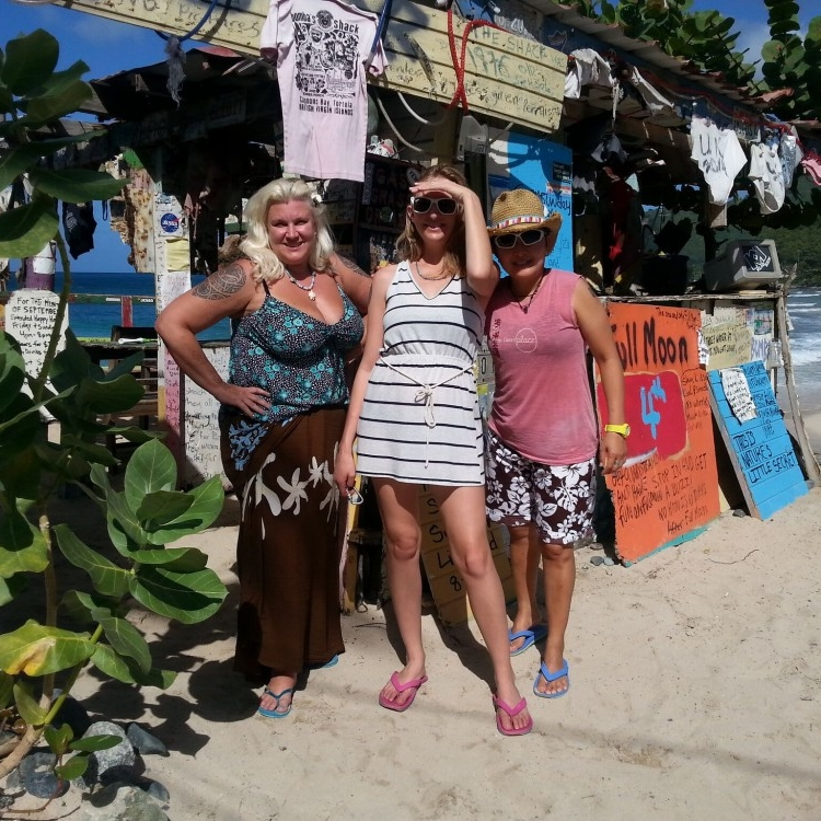 bomba shack, tortola british virgin islands